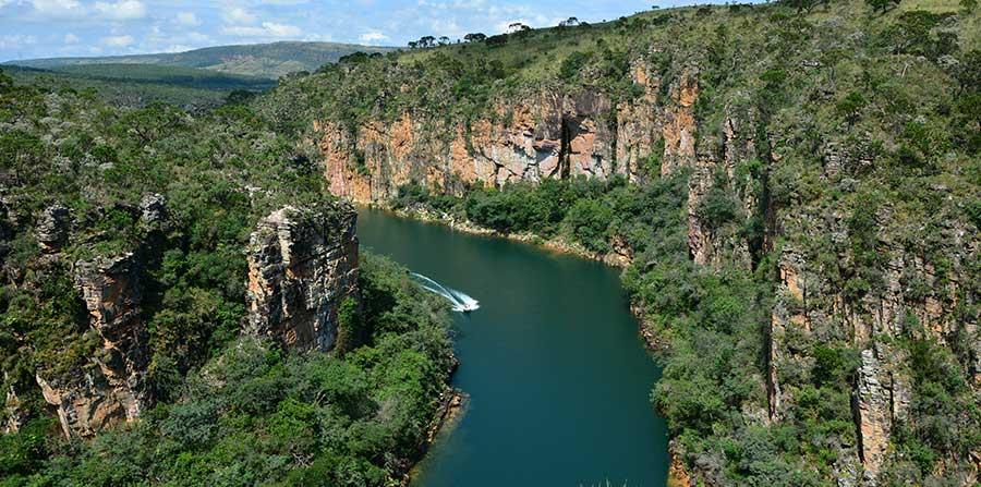 Excursão para Canyons de Capitólio MG - com Tiradentes