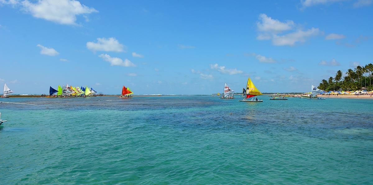 Excursão para Porto de Galinhas com Recife e Olinda PE