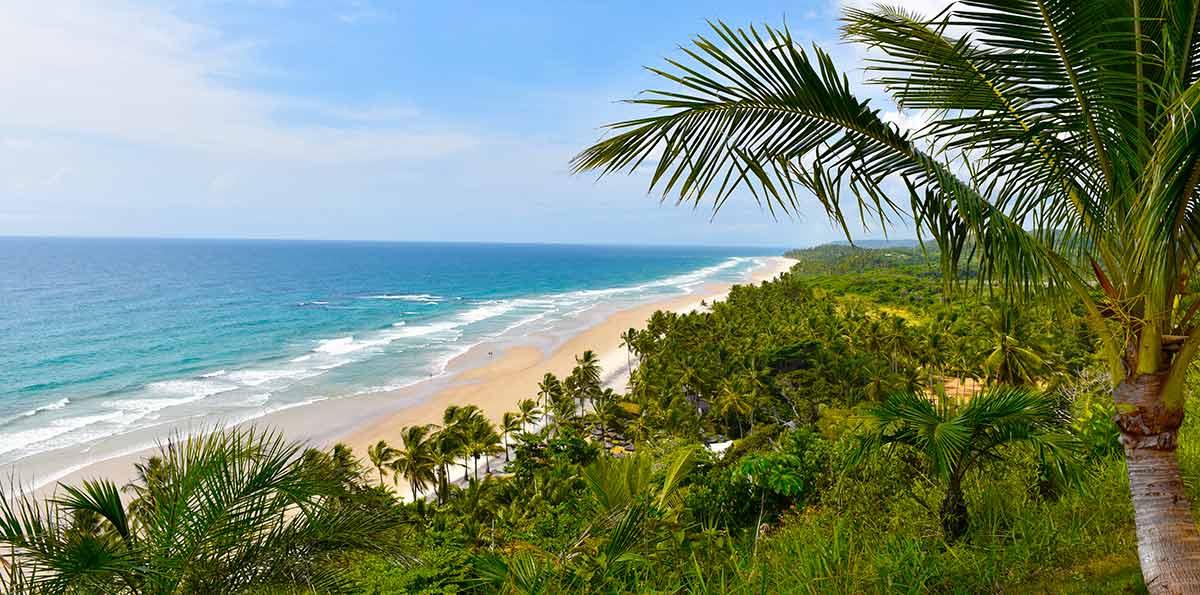 Excursão para Costa do Cacau com Itacaré e Ilhéus Bahia