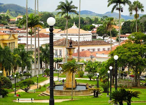 Praça Barão de Campo Belo - Vassouras RJ