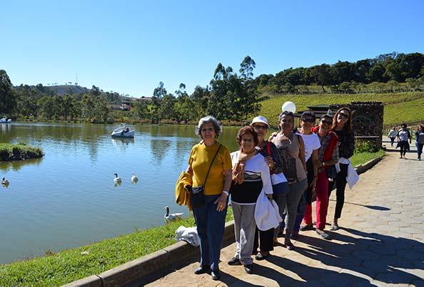 Lago do Hotel Fazenda Vale da Mantiqueira