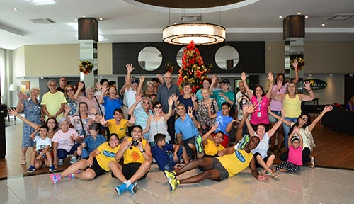 Grupo da Rosanetur no Natal 2016