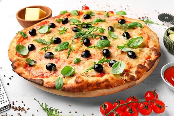 Pizza no Taua Grande Hotel
