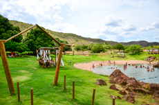 Estrutura do almoço - Eco Parque