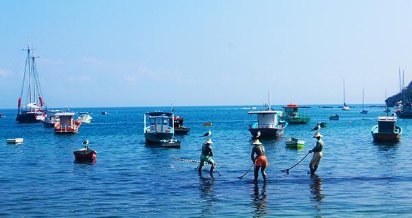 Três pescadores - Buzios