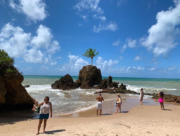 Praia de Tambaba - Costa do Conde PB