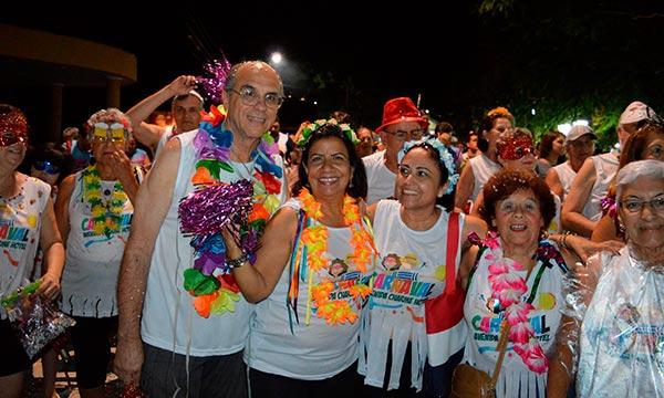 Desfile de Carnaval em Águas de São Pedro SP