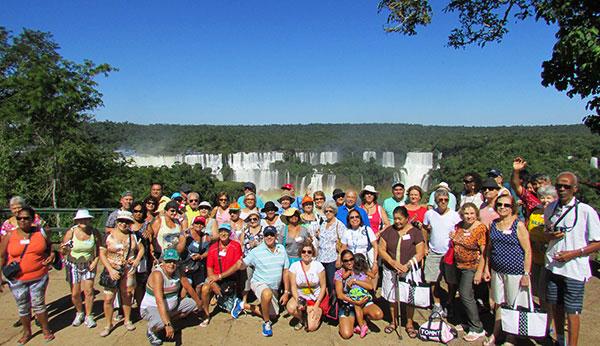 Grupo de Viagem em Foz do Iguaçu