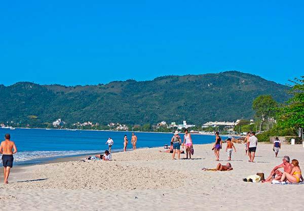 Praia de Canasvieiras SC