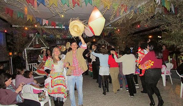 Festa Julina no Hotel Metrópole em São Lourenço MG