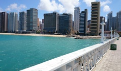 Praia de Iracema em Fortaleza