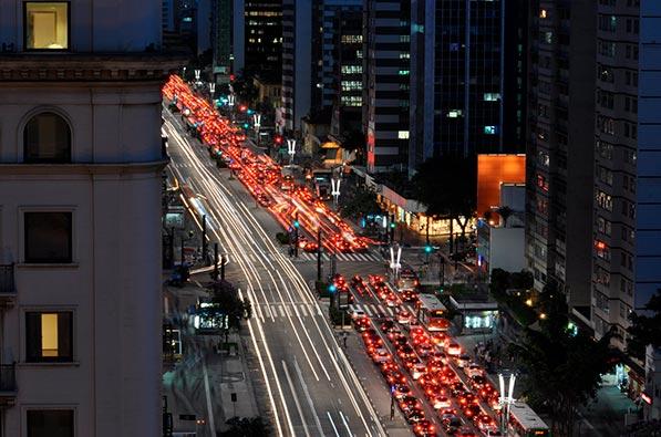 Vista da Av Paulista SP
