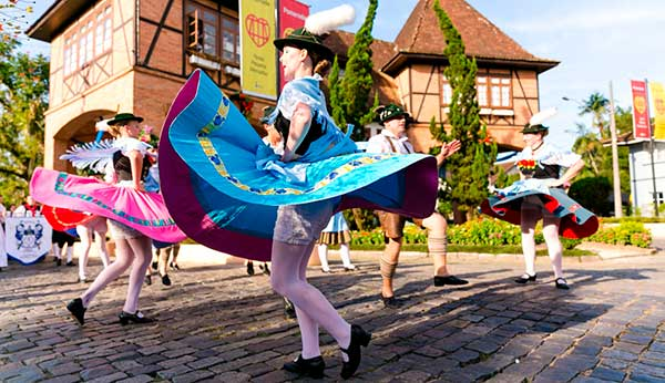Festa Pomerana em Pomerode SC
