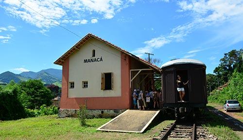 Estação de trem Manacá - Passa Quatro MG