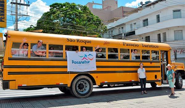 Passeio Onibus Escolar em Sao Roque