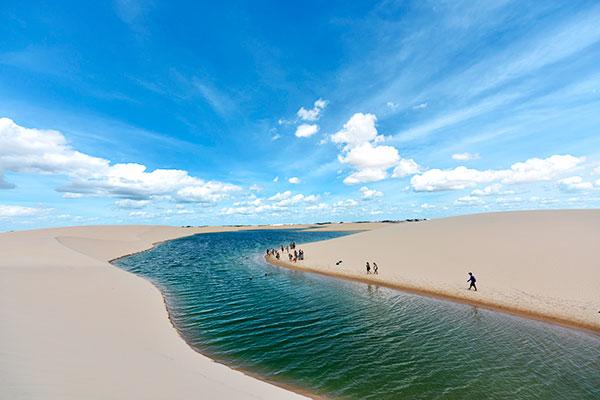 Lagoa em Atins