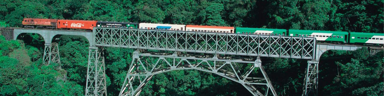 Trem da Serra do Mar Paranaense - Curitiba Morretes