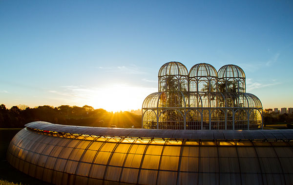 Jardim Botânico de Curitiba PR
