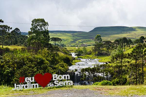 Cascata da Barrinha - Bom Jardim da Serra SC