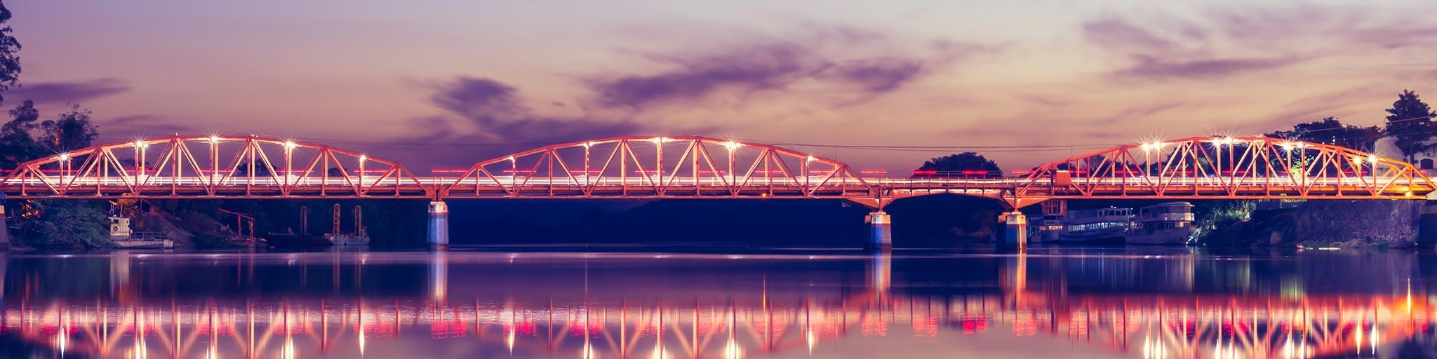 Ponte em Barra Bonita SP