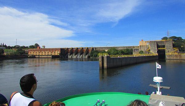 Eclusas de Barra Bonita SP