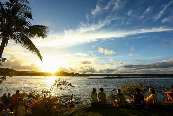 Por do Sol na Praia da Concha - Itacaré