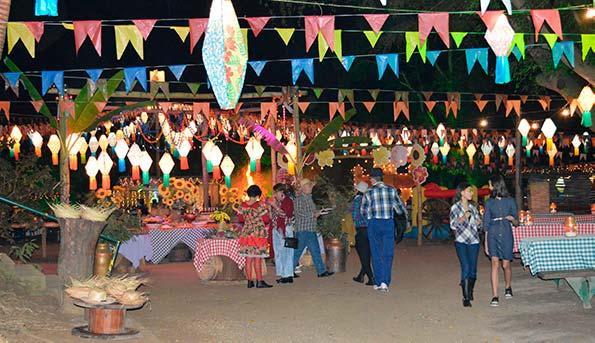 Festa Junina no Hotel Fazenda 7 Lagos