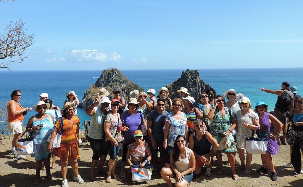 Grupo de Viagem em Fernando de Noronha